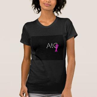 ピンクのリボンのワイシャツ Tシャツ