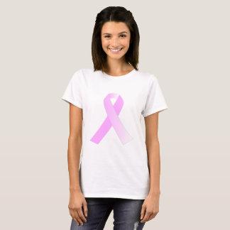 ピンクのリボンの乳癌の認識度のワイシャツ Tシャツ
