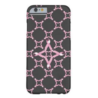 ピンクのリボンの乳癌の認識度 BARELY THERE iPhone 6 ケース