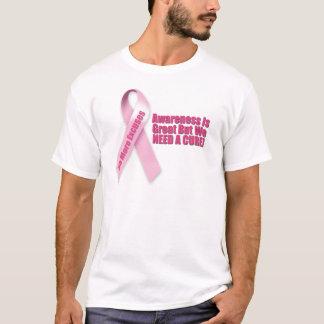 ピンクのリボンの乳癌 Tシャツ