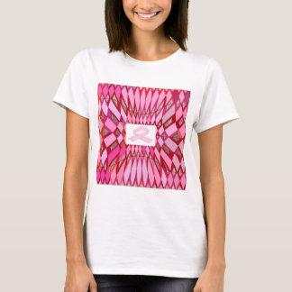 ピンクのリボンの生存者 Tシャツ