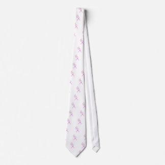 ピンクのリボンの蝶 ネクタイ