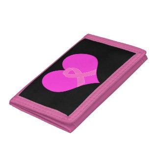 ピンクのリボン及びハートの乳癌の慈善のデザイン