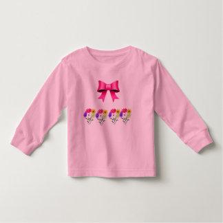 ピンクのリボン トドラーTシャツ