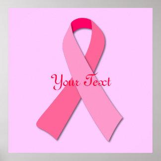 ピンクのリボン ポスター