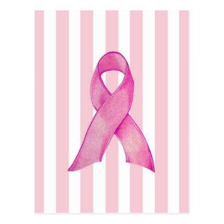 ピンクのリボン ポストカード