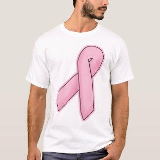 ピンクのリボン#1 Tシャツ