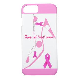 ピンクのリボン iPhone 8/7ケース