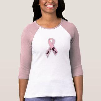 ピンクのリボン Tシャツ