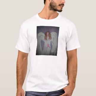 ピンクのリボンAngel.jpg Tシャツ