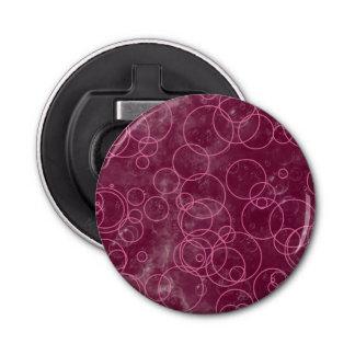 ピンクのリングの泡円形のオープナ 栓抜き