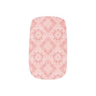 ピンクのルネサンスの美しいのMinxのネイルカバー ネイルアート