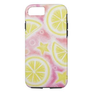 ピンクのレモネード「レモン」iPhone 7の場合やっとそこに iPhone 8/7ケース
