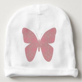 ピンクのヴィンテージの蝶 ベビービーニー