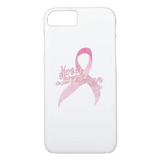ピンクの乳癌サポート iPhone 8/7ケース