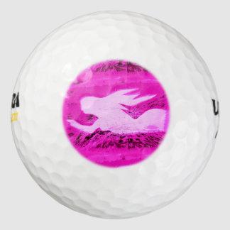 ピンクの人魚を指すこと ゴルフボール