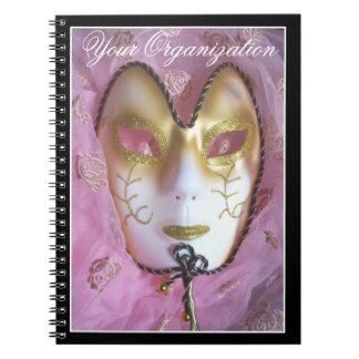 ピンクの仮面劇のノート ノートブック