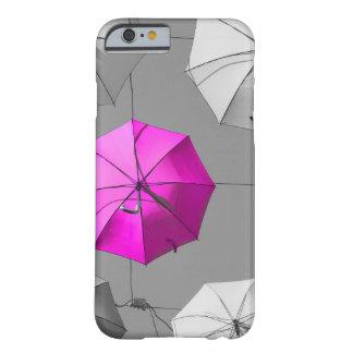 ピンクの傘のiphoneの場合 barely there iPhone 6 ケース