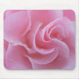 ピンクの共通のツバキ マウスパッド