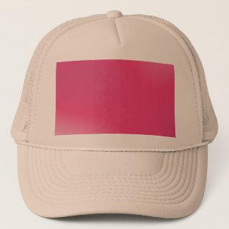 ピンクの勾配パターン キャップ