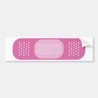 ピンクの包帯 バンパーステッカー