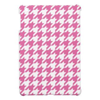 ピンクの千鳥格子のなiPad Miniケース iPad Miniケース