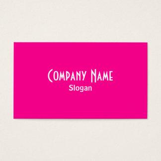 ピンクの名刺 名刺