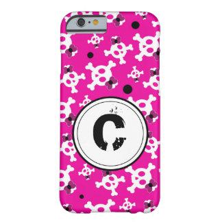 ピンクの名前入りの海賊プリンセス BARELY THERE iPhone 6 ケース
