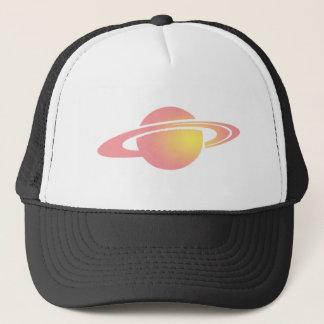 ピンクの土星 キャップ