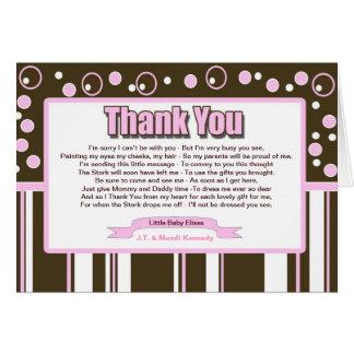 ピンクの地下鉄 カード