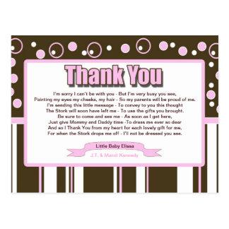 ピンクの地下鉄 ポストカード