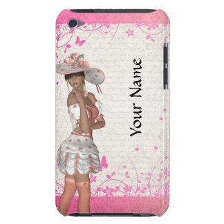 ピンクの夏の女の子 Case-Mate iPod TOUCH ケース