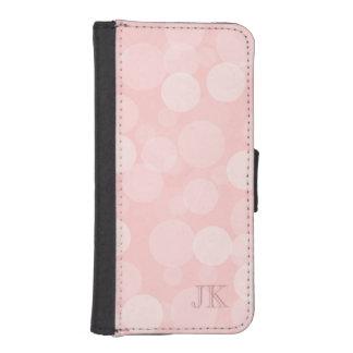 ピンクの夢 iPhoneSE/5/5sウォレットケース