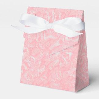 ピンクの大理石の好意箱 フェイバーボックス