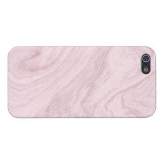 ピンクの大理石のiPhone 5/5Sの光沢のある終わりの場合 iPhone 5 Case