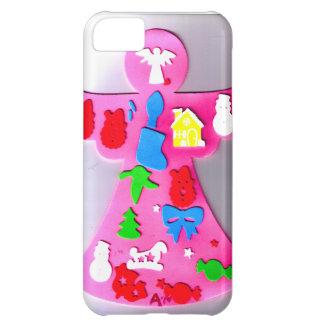 ピンクの天使 iPhone5Cケース