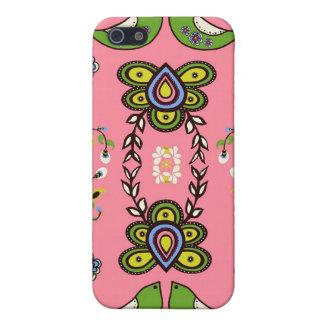 ピンクの失敗Modd愛鳥のiphone 4ケース iPhone 5 Cover