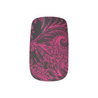 ピンクの妖精の国によってはエアブラシの芸術が夢を見ます ネイルアート