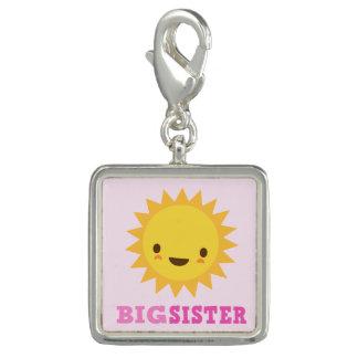ピンクの姉のかわいいかわいいの太陽 チャーム
