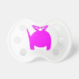 ピンクの子猫 おしゃぶり