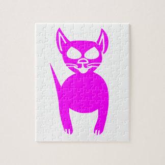 ピンクの子猫 ジグソーパズル