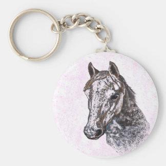 ピンクの子馬 キーホルダー