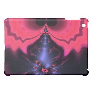 ピンクの小悪魔の-マゼンタ及びすみれ色の歓喜 iPad MINIケース