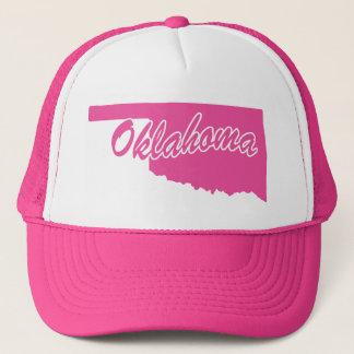 ピンクの州オクラホマ キャップ