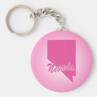 ピンクの州ネバダ キーホルダー