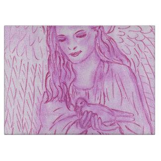 ピンクの平和な天使 カッティングボード
