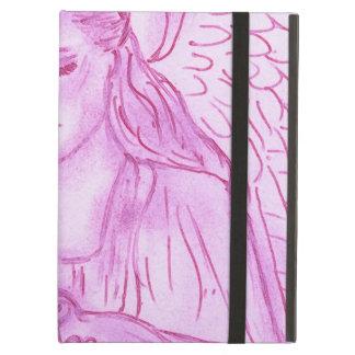 ピンクの平和な天使 iPad AIRケース