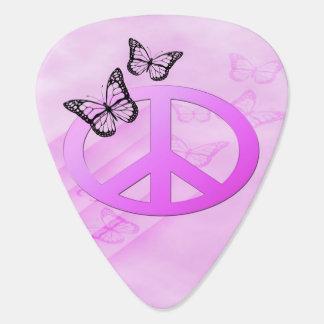 ピンクの平和 ギターピック