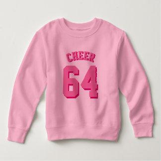 ピンクの幼児 のスポーツジャージー スウェットシャツ