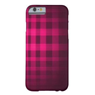 ピンクの幽霊のタータンチェックパターン BARELY THERE iPhone 6 ケース